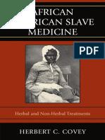 African American Slave Medicine