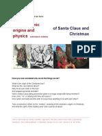 The Shamanic Origins of Santa Claus and Christmas