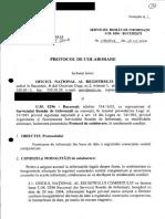 Protocol Serviciul Roman de Informatii- Sri- Um 0296 2004 cu ONRC