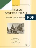 German Postwar Films - Life and Love in the Ruins