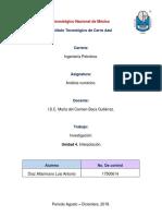 Analisis Numerico Unidad 4