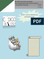 Codigo de Etica de derecho  Revista