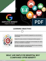 Employee Benefits Presentation
