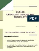 Curso Operacion Segura Del Autoclave 2015