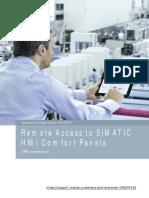 Simatic HMI remote access