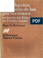 273947952 Introduccion Al Estudio de Las Perversiones Hugo Bleichmar