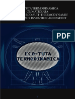Eco-suit Thermodynamic - ECO-TUTA TERMODINAMICA INVENZIONE E BREVETTO by Luca Falace