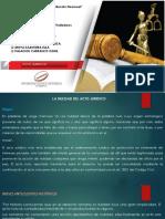 La Nulidad y Confirmacion en El Acto Juridico