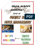 class 12th cbse  C++ project  on hotel management 2018-19