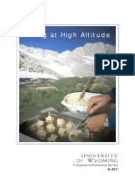 Cooking - University of Wyoming - Baking at High Altitude