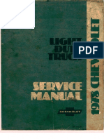 1978 Chevrolet Truck Service Manual