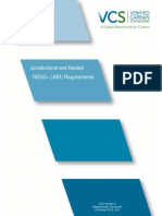 VCS Jurisdictional and Nested REDD+ Requirements, v3.0