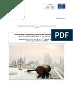 Charte éthique européenne d'utilisation de l'intelligence artificielle dans les systèmes judiciaires et leur environnement