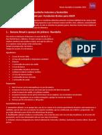 Recetario Inclusivo y Sostenible de Fiestas 2018. Fundación Brotes para ASOF.