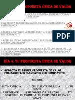Dia 4 PDF 4 Propuesta de Valor