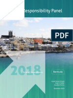 Bermuda Fiscal Responsibility Panel 2018 Annual Assessment
