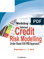 Workshop on Internal Credit Risk Modeling