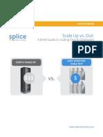 Splice Machine White Paper Scale Up vs Out