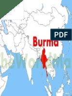 Burma Location Map