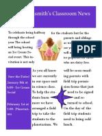 allisons newsletter final