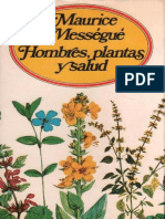 Hombres Plantas y Salud  Maurice Messegue.epub