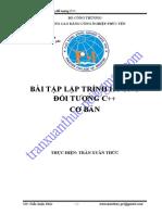 BÀI TẬP - Lập trình hướng đối tượng C cơ bản (Trần Xuân Thức).pdf