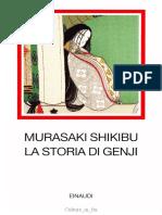 Murasaki Shikibu, A Cura Di Adriana Motti-La Storia Di Genji-Einaudi (1957)