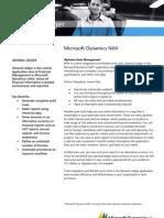 MicrosoftDynamicsNAVGeneral Ledger FactSheet
