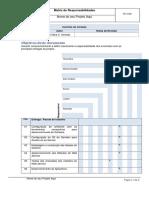 Modelo Matriz de Responsabilidade 2014