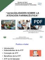 Generalidades Sobre La Atencion Farmaceutica