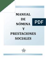 Manual de Nomina y Prestaciones Sociales