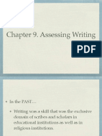 Chapter 9 Assessing Writing