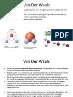 Explicacion Van de Waals