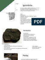 Charla de Petrologia 1, 5rocas Igneas Corrección