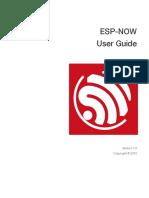 Guia do usuário ESP NOW - en