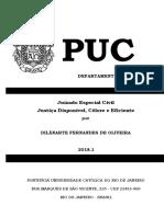 Juizado Especial Civil Justiça Disponível Célere e Eficiente