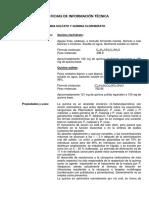 Quinina Sulfato y Quinina Clorhidrato