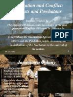 JamestownColonist&Powhatans