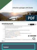 Distros Docker