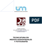 Tecnicatura en Medios Audiovisuales y Fotografia IBERO PUEBLA