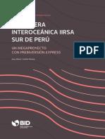 Carretera Interoceanica IIRSA Sur de Peru Un Megaproyecto Con Preinversion Express