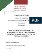 TFG_iglesia y Franquismo s XX