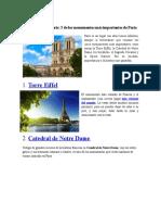 Monumentos de París.docx