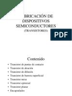 Fabricacion de Transistores