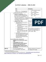 B - Criteria for MCQ Evaluation