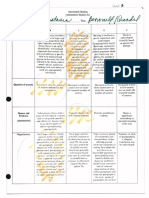 annotated outline rubric