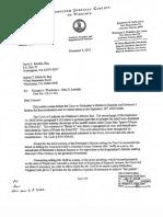 Woolman v. Lesinski Parker Letter 120512