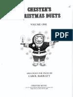 BARRATT - Chester's Christmas Duets (Vol. 1)