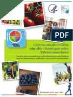 Consuma una alimentación saludable - Manual de MyPlate