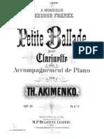 [Clarinet_Institute] Akimenko Petite Ballade cl pno.pdf